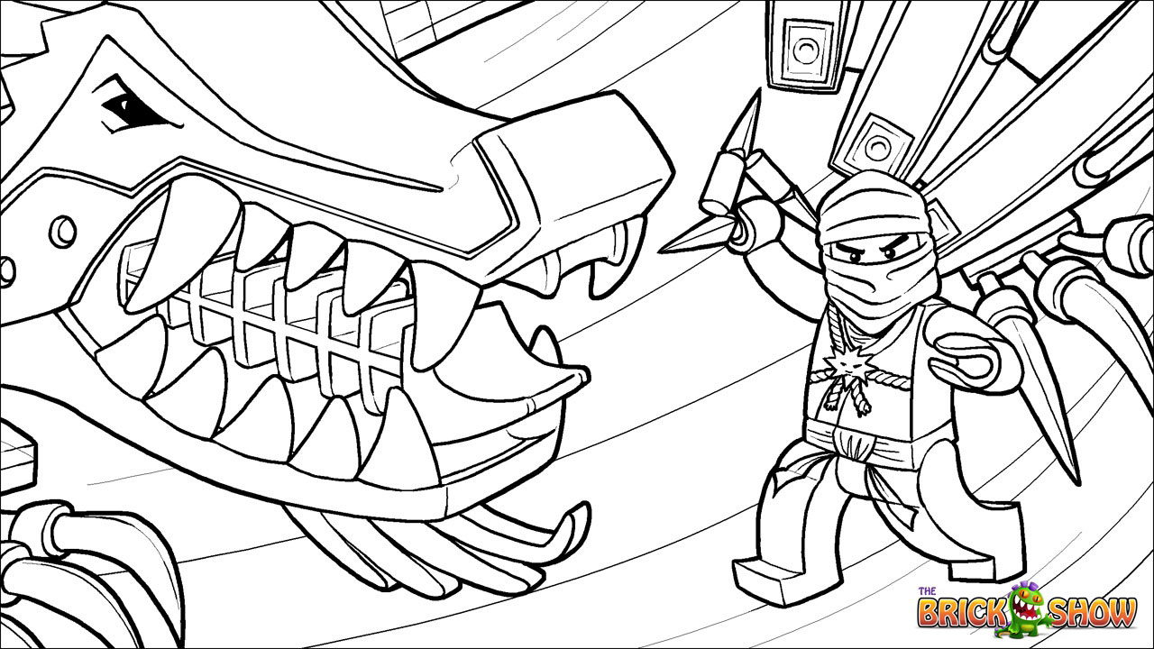 lego coloring pages ninjago nindroid - photo #11