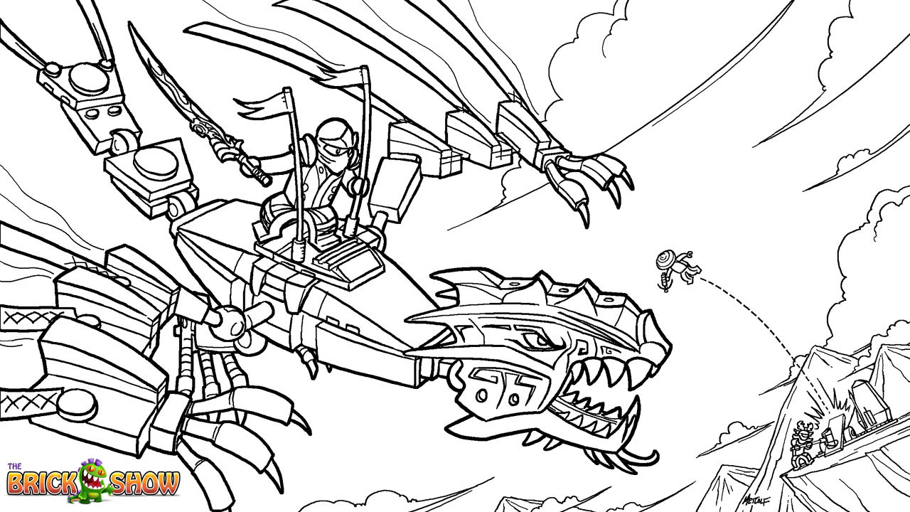 Free Coloring Pages Of Lego Ninjago Falls Lego Ninjago Colouring Pages
