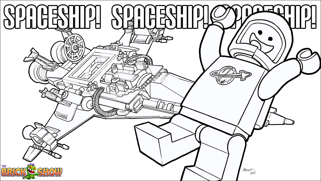 lego rocket ship coloring pages - photo#31