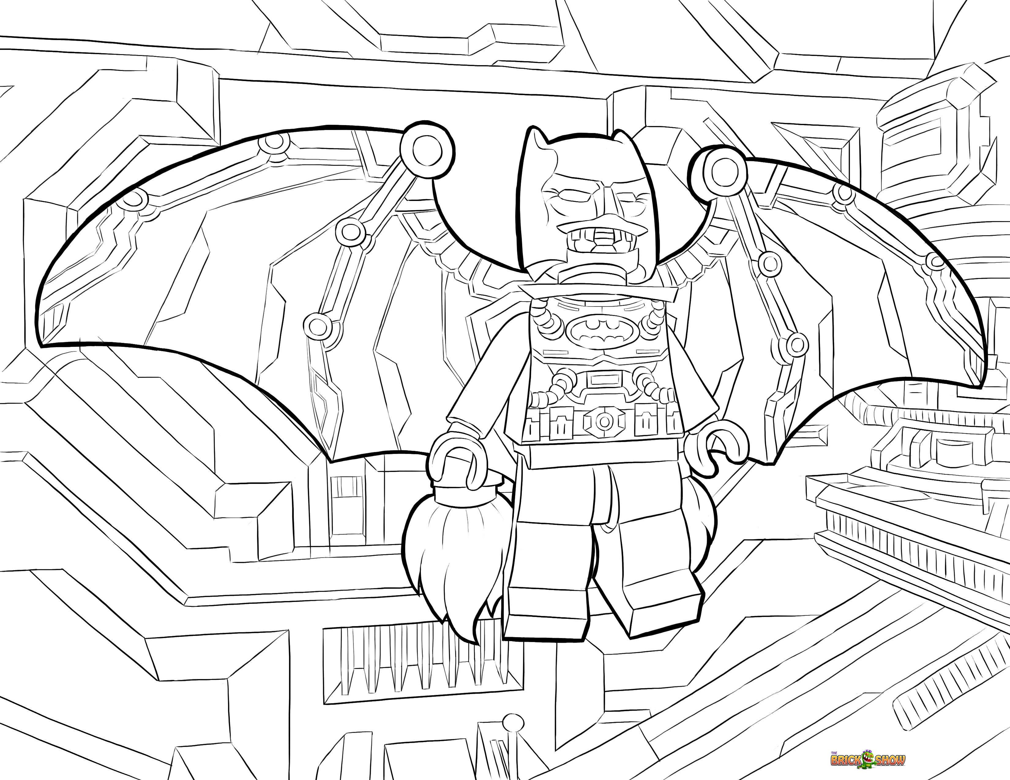 Gallery For gt Lego Batman 2 Coloring Pages Robin