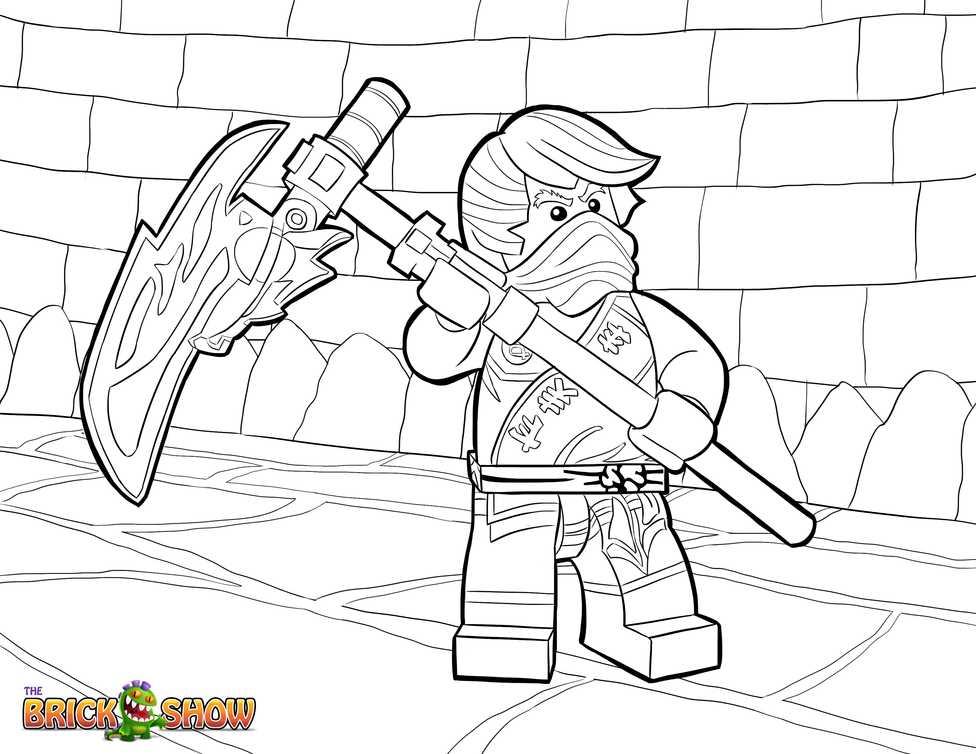 Free Coloring Pages Of Lego Ninjago 2015 Lego Ninjago Coloring Pages 2015