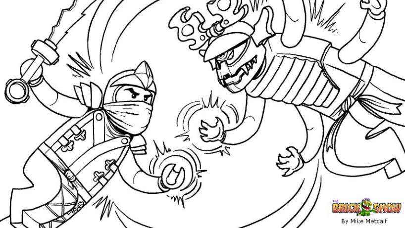 Lego ninjago colouring pictures imagui for Ninjago green ninja coloring pages
