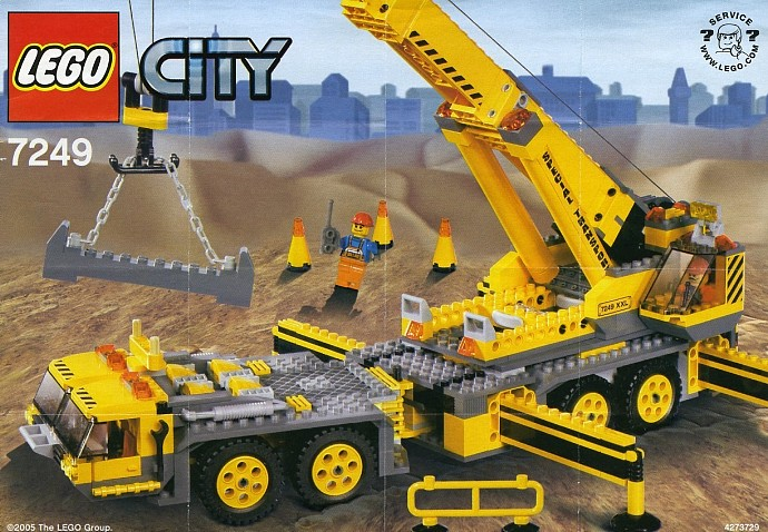 Lego City Crane Lego City Xxl Mobile Crane Set