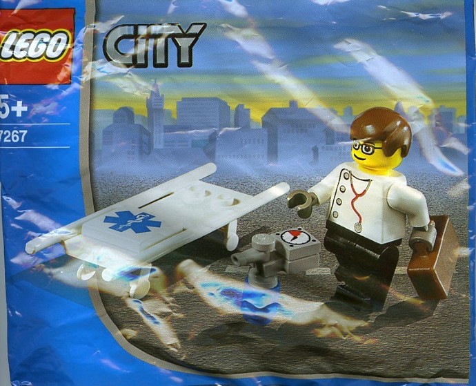 Lego City Paramedic Set Review Pictures Lego 7267