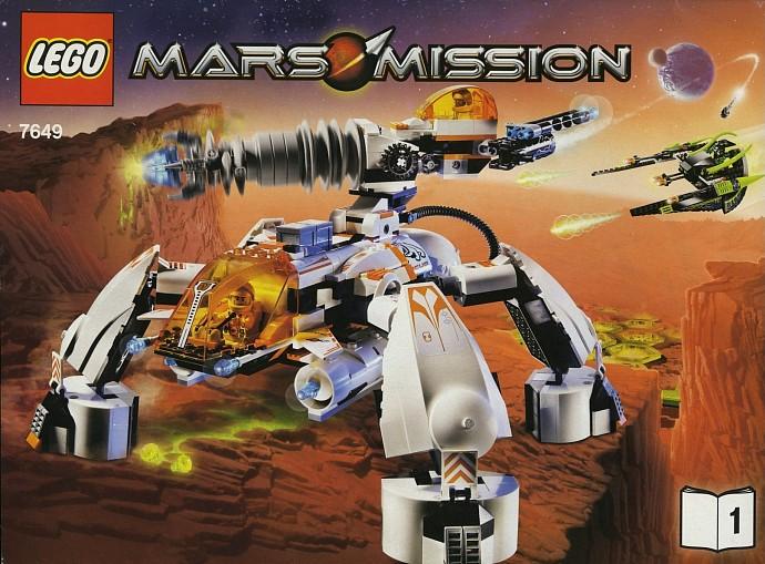 LEGO Mars Mission MT 201 Ultra Drill Walker Set Review