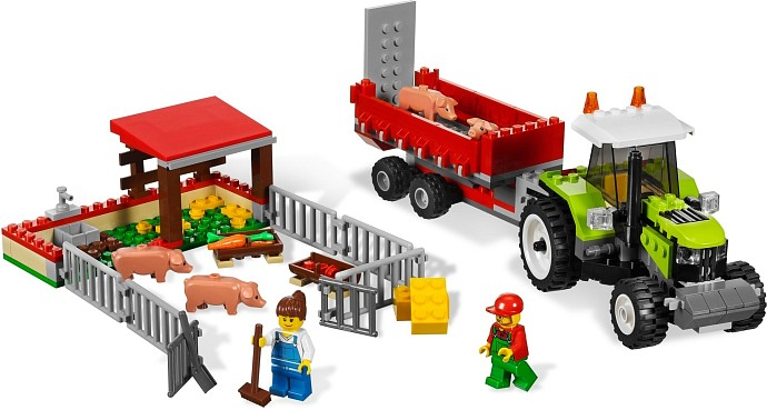 Holiday Coloring Pages Arctic Animals LEGO City Pig Farm U0026 Tractor Set Review