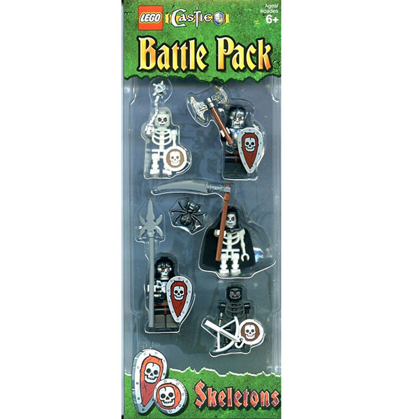 Lego Castle Skeletons Battle Pack Set Review Pictures