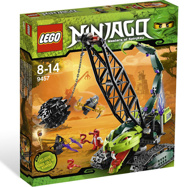 Lego Ninjago Fangpyre Wrecking Ball Set Review Pictures