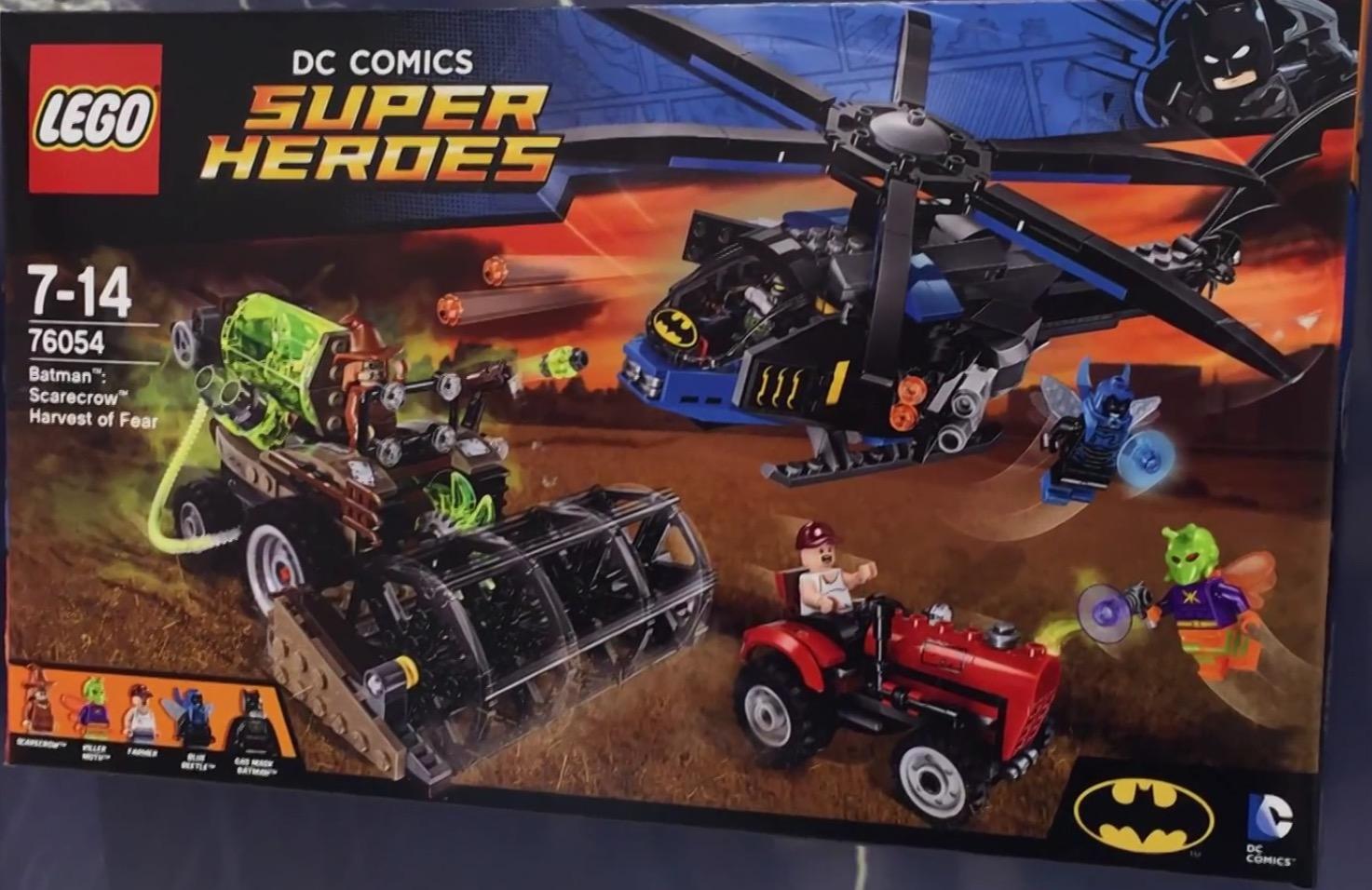 Box Art for LEGO Batman: Scarecrow Harvest of Fear   LEGO News ...