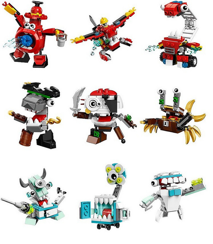 am i the only one who is loving the mixels sets lego