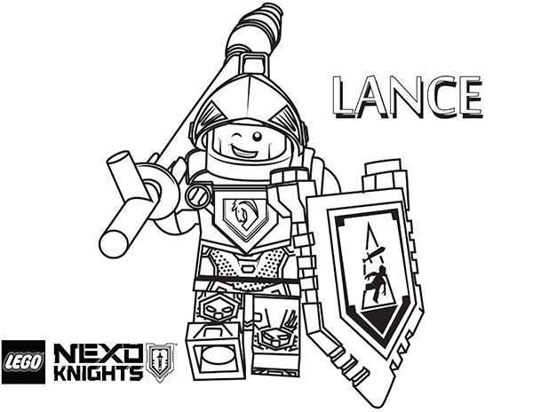 New Coloring Pages Nexo Knights
