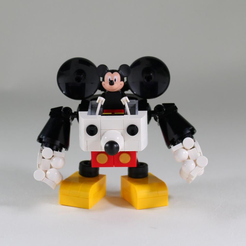 Moko Does It Again With This Mecha Mickey Robo Lego News