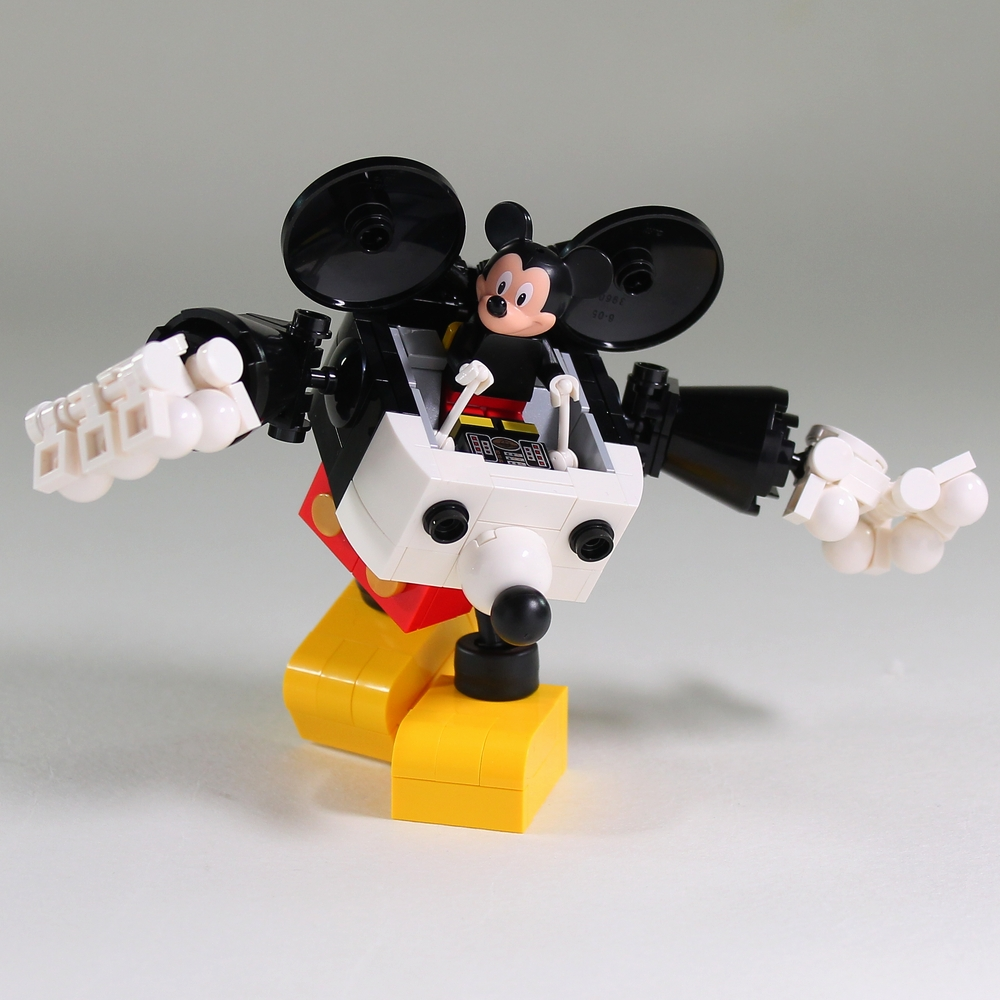 Moko Does It Again With This Mecha Mickey Robo LEGO News