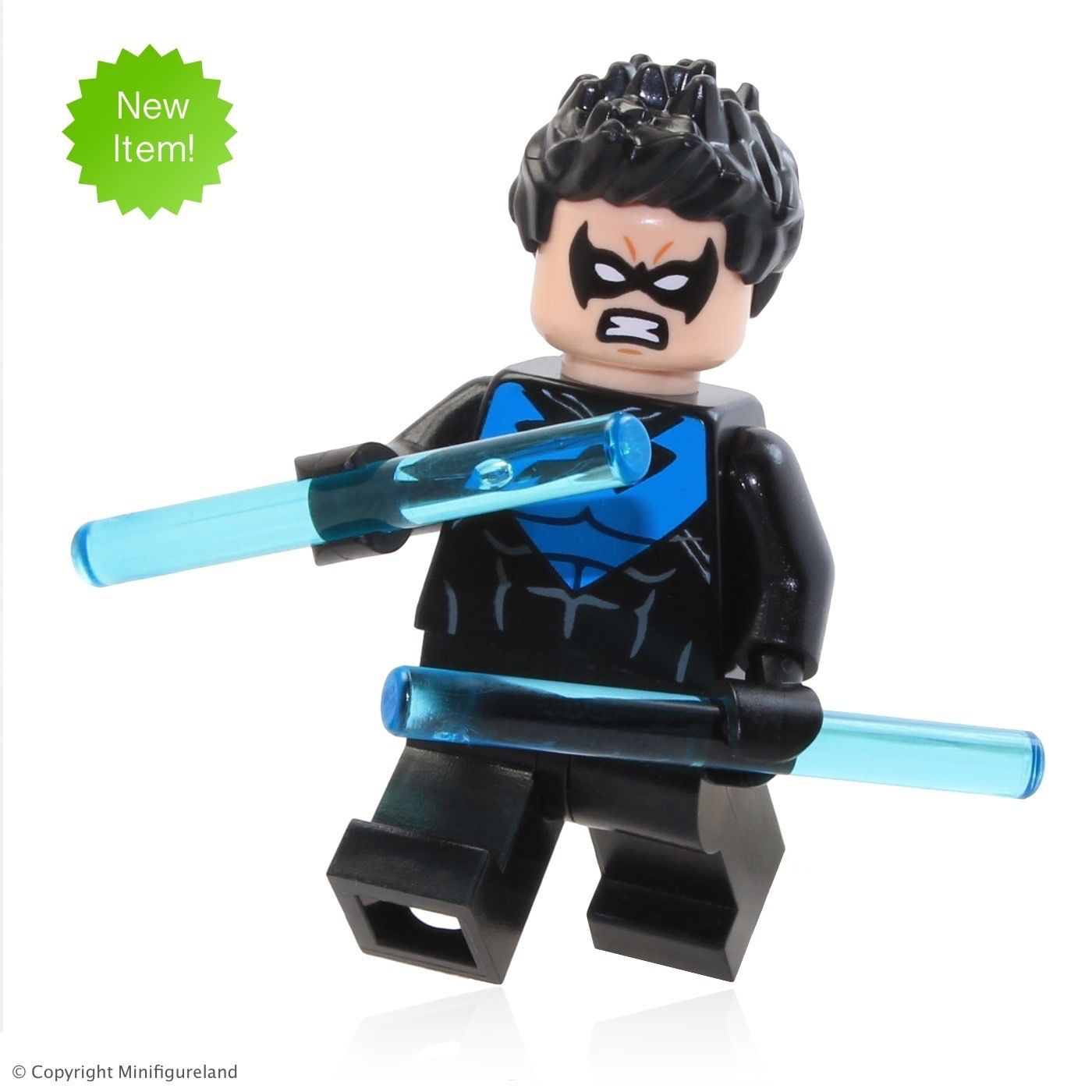 Exclusive LEGO Superheroes Minifigures Captain America 30447 and