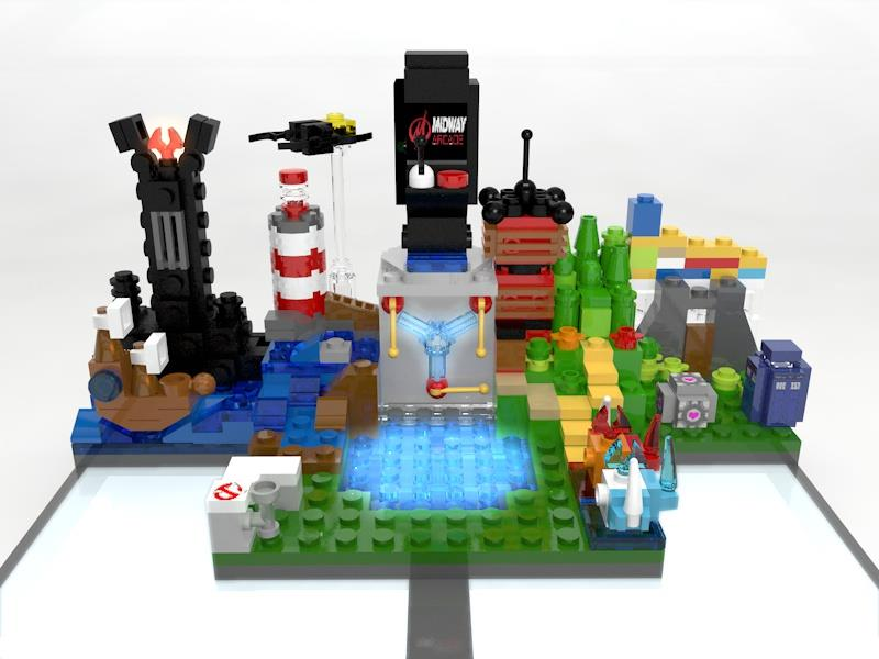 This Customized Lego Dimensions Gateway Features An