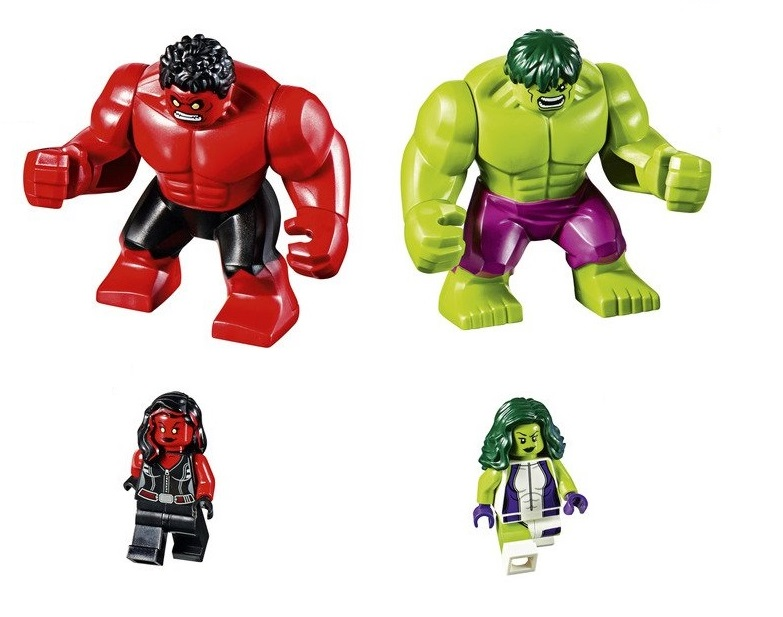 LEGO Marvel Superheroes Hulk VS Red To Be Introduced At SDCC 2016 News Latest