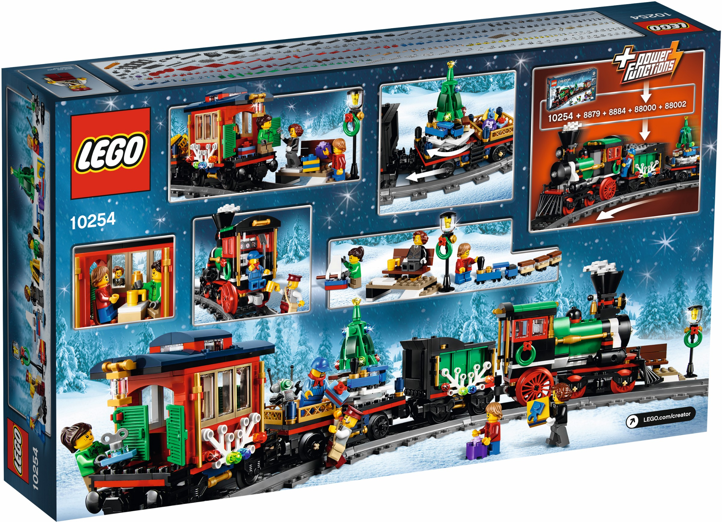 LEGO Reveals Its Latest Christmas Train Set, The Winter Holiday ...