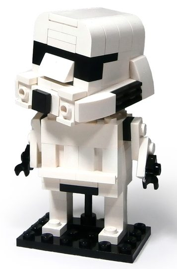 This Is What A LEGO Star Wars BrickHeadz And Funko Pop Mash Up Looks